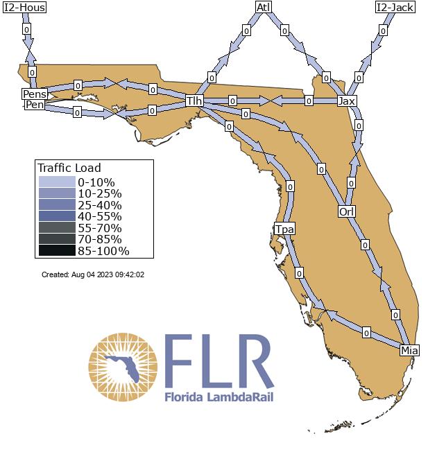 Weather Map Florida.Florida Lambdarail Flrnet Weathermap